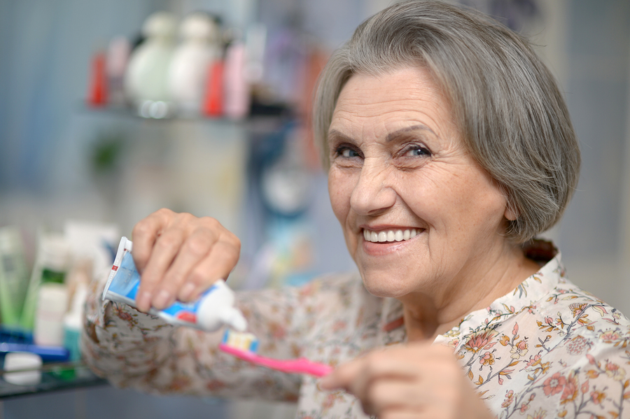 Senior Care in River Oaks TX: Can You Help Your Aging Adult with Her Dental Care?