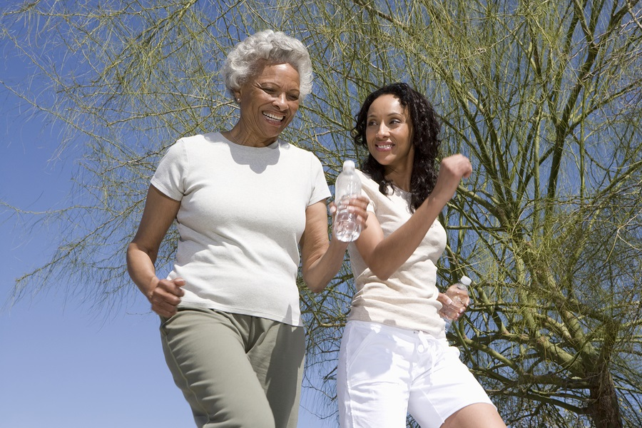 Elder Care in Galleria TX: Even Light Activity Benefits an Older Woman's Health